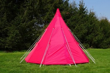 Tipi Tent at Isle of Wight Festival