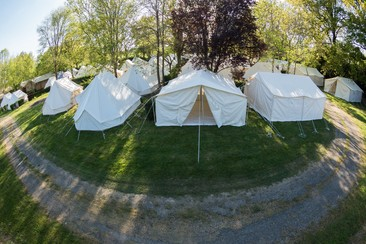 Vodafone Paredes de Coura - Sleep'em'All Camping - Tenda Explorer
