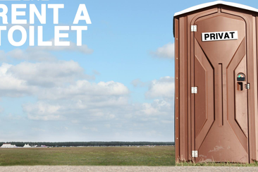 Rent A Toilet for your camping area