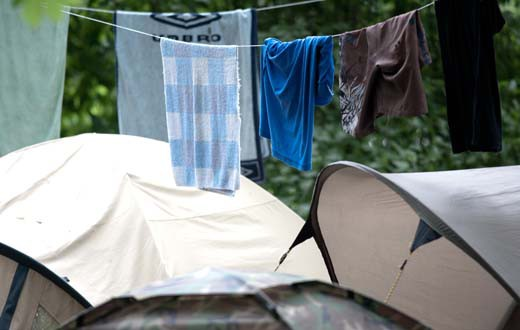 Sziget Camping 2