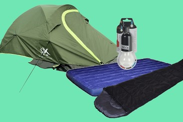 Kit Camping Sziget Deluxe
