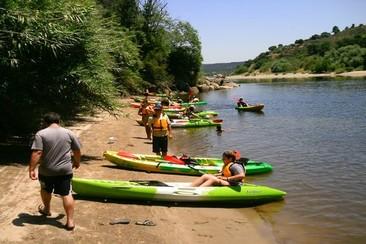 Downhill Kayak Activity - Tejo River
