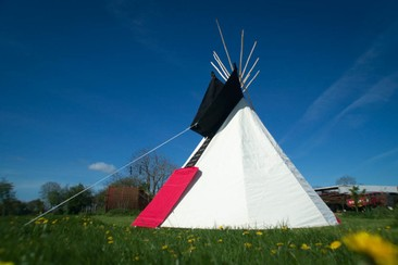 Hearthworks Tipi at Wychwood Campsite