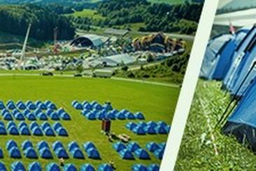 Wojnar's Tent beim Comfort Camping