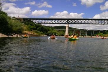Downhill Kayak Activity - Zêzere River