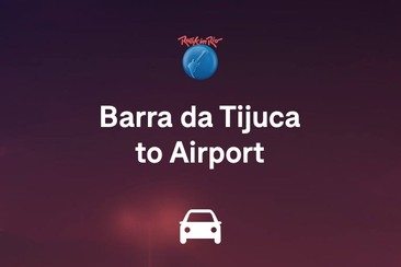 One-Way Transfer - Barra da Tijuca to RIOgaleão-Tom Jobim International Airport
