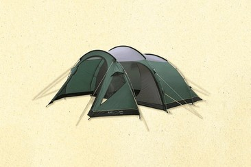 Ökonomisches Zeltpaket auf dem Campingplatz von Wacken Open Air