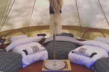 Luxury Bell Tent @ Goatfest