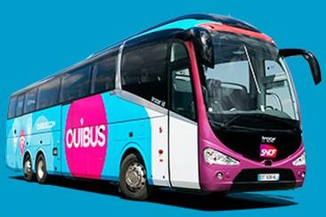 Ouibus Travel - One-Way Coach Travel from Garorock