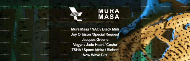 WHP 2019: Mura Masa presents Raw Youth Collage Ticket