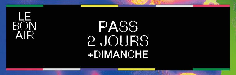 2 Days Pass + Sunday Access - Promo