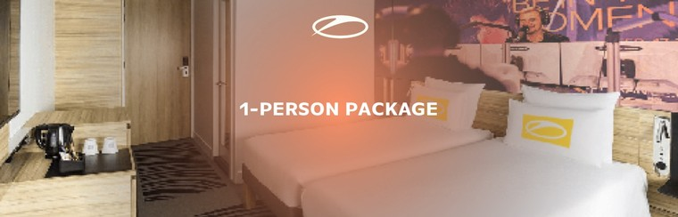 ASOT Hotel Package - Single Pack General Access (1-Person)
