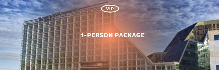 Luxury Hotel Package - Single Pack VIP Access (1-person)