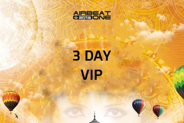 3 Day VIP Ticket - Full Weekend