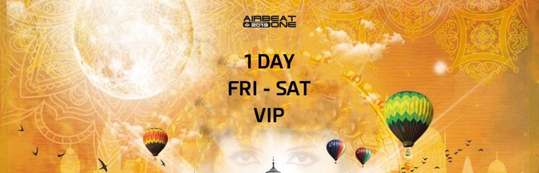 1 Day VIP Ticket - Fri to Sat