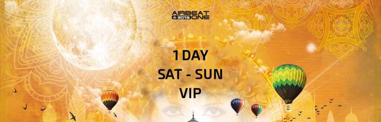1 Day VIP Ticket - Sat to Sun