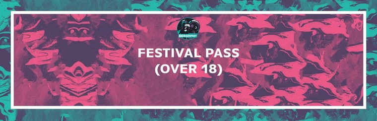Festival Pass (Over 18 Years Old)