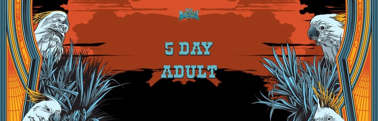 General Admission Ticket - 5 Day Festival Adult