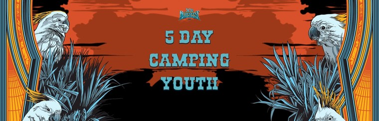 General Admission Ticket - 5 Day Festival & Camping Youth