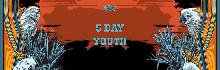General Admission Ticket - 5 Day Festival Youth