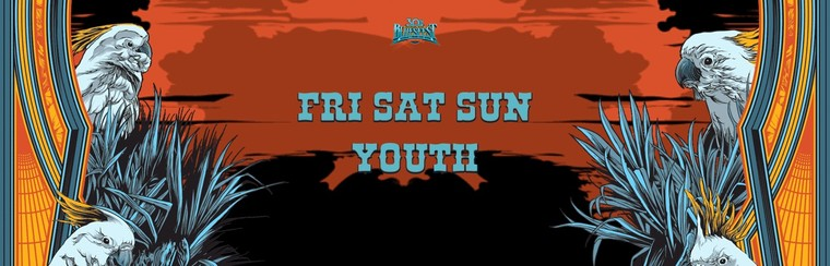 General Admission Ticket - 3 Day Festival Youth (Fri+Sat+Sun)