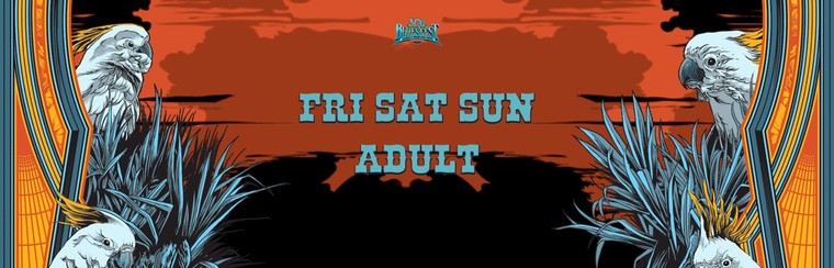 General Admission Ticket - 3 Day Festival Adult (Fri+Sat+Sun)
