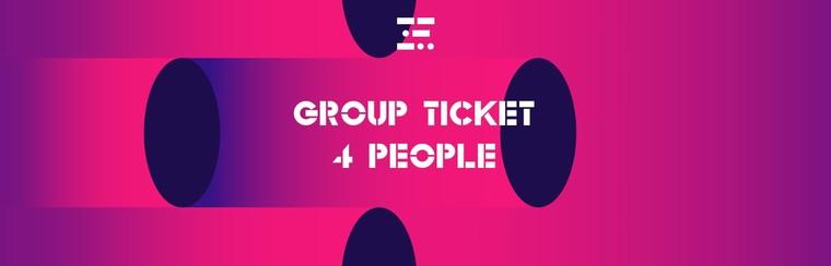 Groepsticket - 4 personen