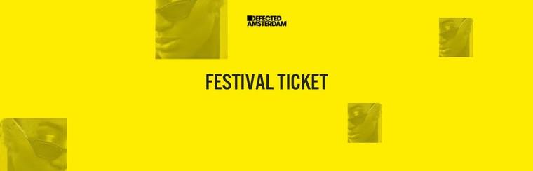 Defected Amsterdam - Ticket