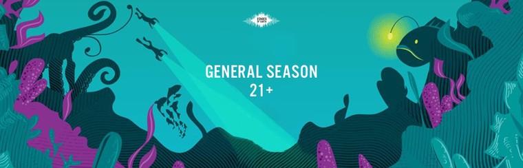 General Season Pass (21+)