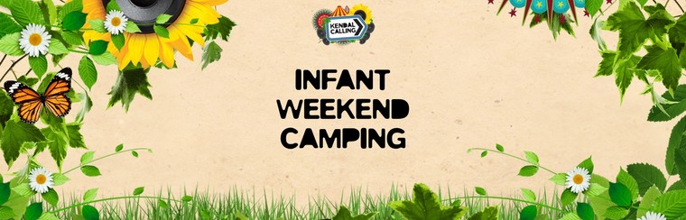Infant Weekend Camping Ticket