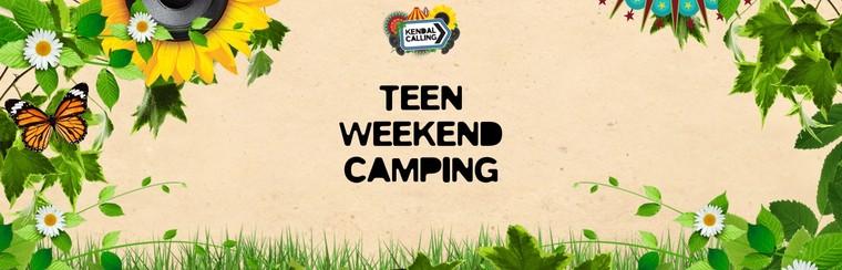 Teen Weekend Camping Ticket