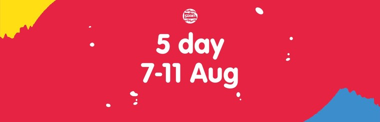 5-Day Pass 7-11 August
