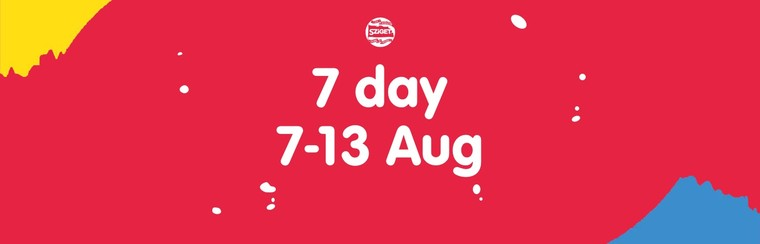 7-Day Pass 7-13 August