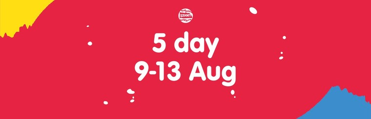 5-Day Pass 9-13 August