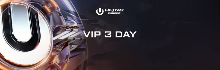 VIP 3-Day Ticket - 12-14 July