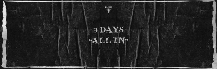 "3-Days ""All In"" Ticket W:O:A 2019"