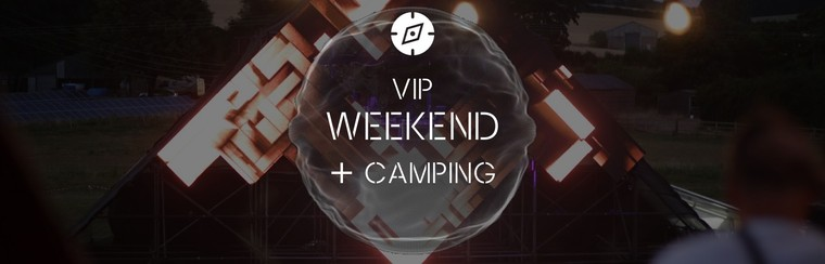 VIP Weekend Pass + Camping