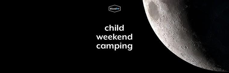 Wochenend-Campingticket für Kinder