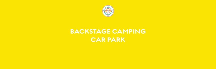 Backstage Camping Car Park Ticket