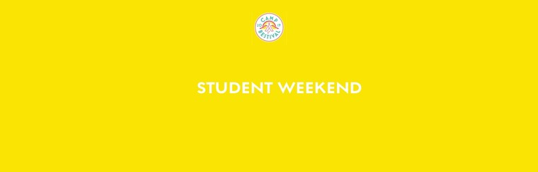 Student Weekend Ticket