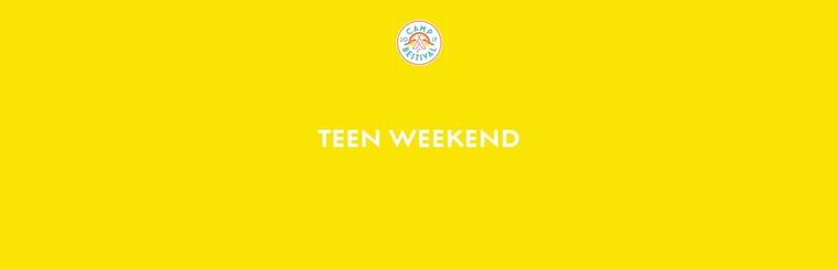 Teen Age 13-17 Weekend Ticket