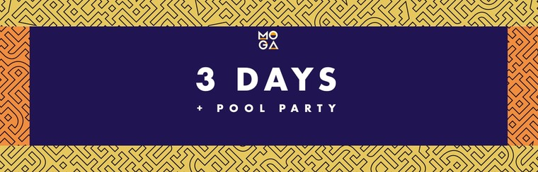 3 Days Pass + Pool Party