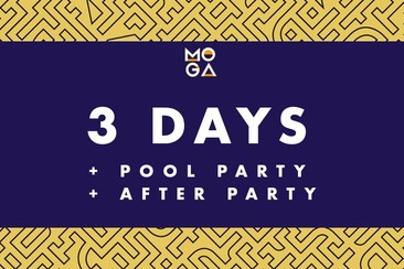 3 Days Pass + Pool Party + After Party