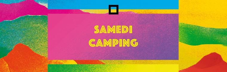 Billet camping - Samedi