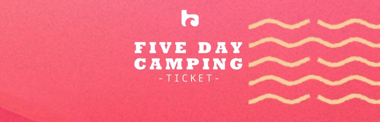 Five Day Camping Ticket