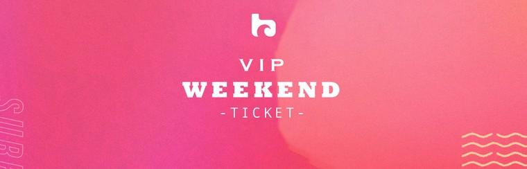 Weekend VIP Ticket