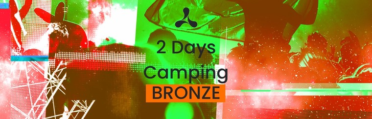 Bronze 2 Day Camping Ticket