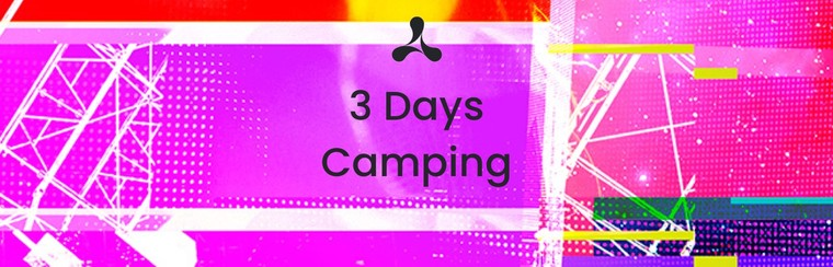 Standard 3 Day Camping Ticket