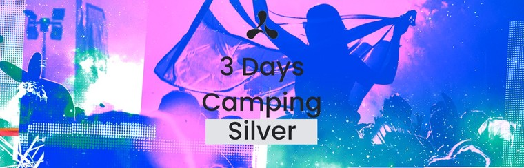 Silver 3 Day Camping Ticket