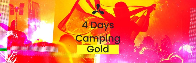 Gold 4 Day Camping Ticket